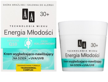 AA Cosmetics Age Technology Youthful Vitality crème hydratante et lissante visage  30+