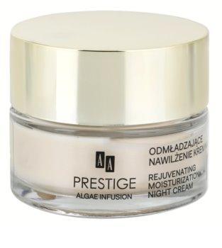 AA Prestige Algae Infusion noční omlazující krém s hydratačním účinkem