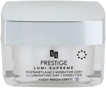 AA Prestige Lumi Supreme rozjasňující korektor pro perfektní pleť