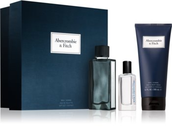 Abercrombie & Fitch First Instinct Blue darčeková sada M.