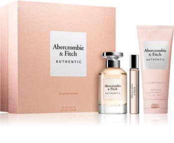 abercrombie & fitch authentic woman woda perfumowana 100 ml  zestaw