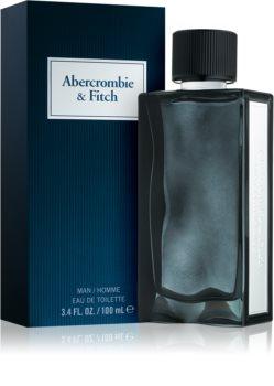 Abercrombie & Fitch First Instinct Blue Eau de Toilette voor Mannen 100 ml