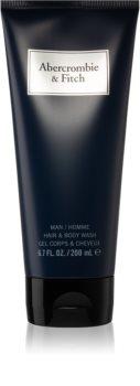 Abercrombie & Fitch First Instinct Blue Duschgel für Herren 200 ml