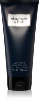 Abercrombie & Fitch First Instinct Blue żel pod prysznic dla mężczyzn 200 ml