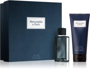 Abercrombie & Fitch First Instinct Blue zestaw upominkowy I. (dla mężczyzn)