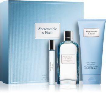 Abercrombie & Fitch First Instinct Blue coffret cadeau II. (pour femme) pour femme