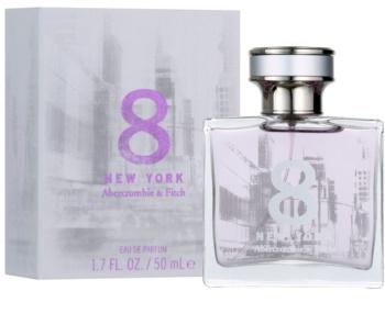 Abercrombie & Fitch 8 New York Eau de Parfum para mulheres 50 ml