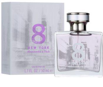 Abercrombie & Fitch 8 New York parfémovaná voda pro ženy 50 ml