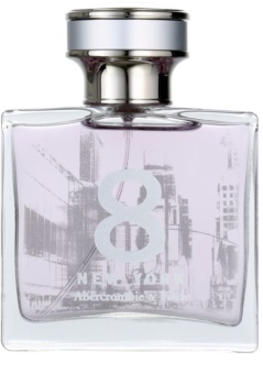Abercrombie & Fitch 8 New York eau de parfum pour femme 50 ml