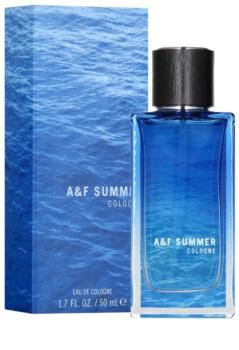Abercrombie & Fitch A & F Summer Eau de Cologne para homens 50 ml