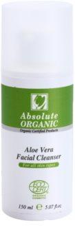 Absolute Organic Aloe Vera gel limpiador para todo tipo de pieles