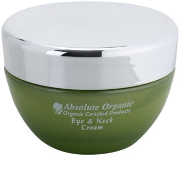 Absolute Organic Face Care crema de ojos y escote
