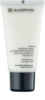 Academie All Skin Types Milde Crèmemasker  met Hydraterende Werking