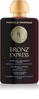 Académie Bronz' Express lotion tonique teintée visage et corps