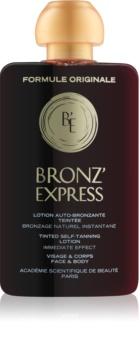 Academie Bronz' Express tónico com cor para rosto e corpo