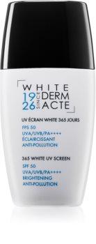 Academie 365 White UV Screen Protective Facial Cream High Sun Protection