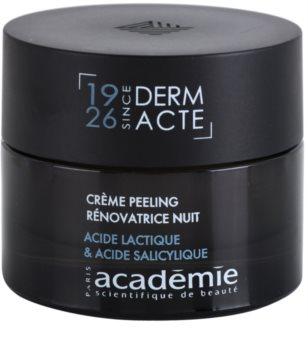 Academie Derm Acte Intense Age Recovery noční protivráskový krém s peelingovým efektem