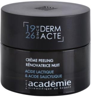 Academie Derm Acte Intense Age Recovery nočný protivráskový krém s peelingovým efektom