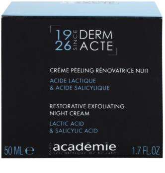 Academie Derm Acte Intense Age Recovery Nachtcreme gegen Falten mit Peelingeffekt
