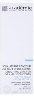 Académie All Skin Types crème anti-rides contour yeux et lèvres