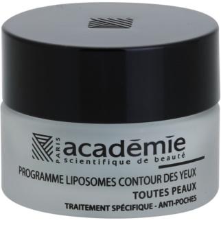 Academie All Skin Types gel alisante de olhos anti-inchaço