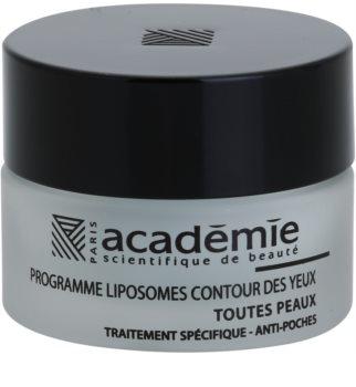 Academie All Skin Types gladilni gel za predel okoli oči proti oteklinam