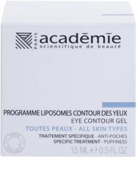 Academie All Skin Types wygładzający żel pod oczy przeciw obrzękom