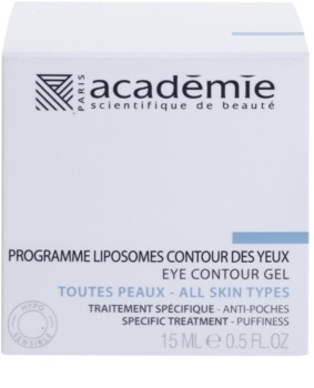 Academie All Skin Types zaglađujući gel za oči protiv oticanja