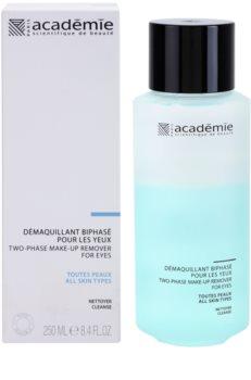 Academie All Skin Types dvofazno sredstvo za skidanje make-upa oko očiju