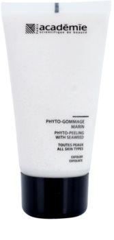 Academie All Skin Types encimski piling z rastlinskimi izvlečki
