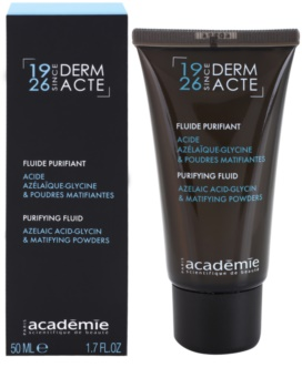 Academie Derm Acte Brillance&Imperfection Cleansing Fluid For Skin With Imperfections