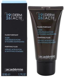 Academie Derm Acte Brillance&Imperfection fluido detergente per pelli con imperfezioni