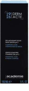 Academie Derm Acte Brillance&Imperfection Zachte Reinigingsgel voor Porië Minimalisatie en Matte Huid Uitstraling
