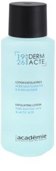 Academie Derm Acte Brillance&Imperfection nježno mlijeko za čišćenje s piling učinkom