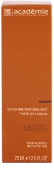 Academie Bronzécran  έγχρωμη κρέμα για ματ όψη SPF 6