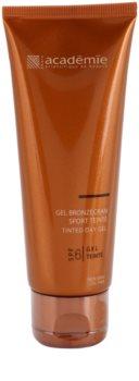 Academie Bronzécran gel facial com cor SPF 6