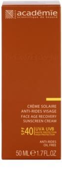 Academie Bronzécran сонцезахисний крем проти старіння шкіри SPF 40