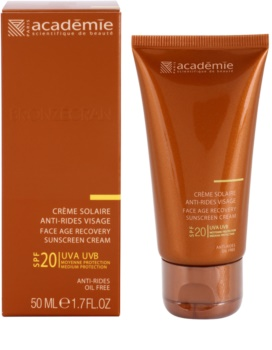 Academie Bronzécran krema za sončenje proti staranju kože SPF 20