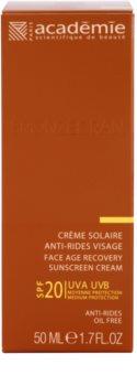 Academie Bronzécran Crema anti-imbatranire pentru protectie solara SPF 20