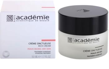 Academie Dry Skin gazdag krém hidratáló hatással