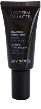 Academie Derm Acte Severe Dehydratation Liftingcreme für den Augenbereich und die Wimpern