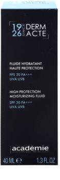 Academie Derm Acte Severe Dehydratation hidratáló védő fluid SPF 30