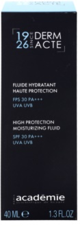 Academie Derm Acte Severe Dehydratation защитен овлажняващ флуид SPF 30
