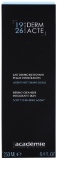 Academie Derm Acte Intolerant Skin Gentle Cleansing Milk for Face and Eyes