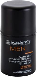Academie Men aktivní pleťový balzám proti vráskám