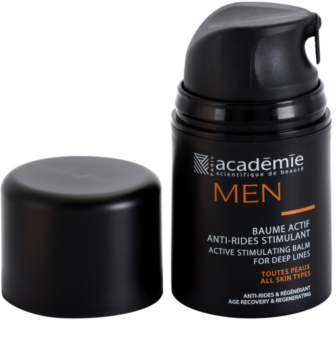 Academie Men balsamo attivo per la pelle antirughe