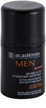 Academie Men balsamo idratante attivo effetto opaco