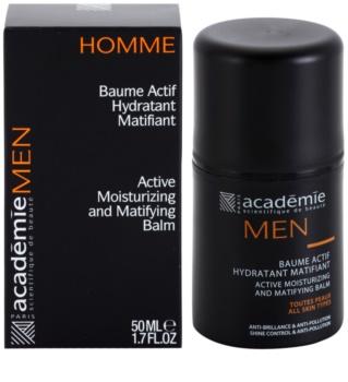 Académie Men baume hydratant actif effet mat