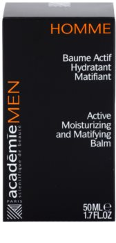 Academie Men aktív hidratáló balzsam matt hatással