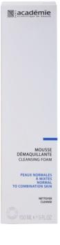 Academie Normal to Combination Skin mousse detergente effetto idratante